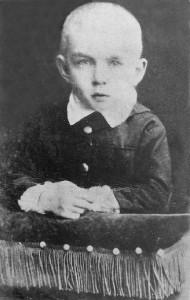 Ouspensky as a child