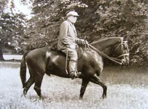 P.D. Ouspensky riding
