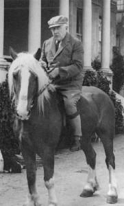 P.D. Ouspensky at Lyne Place