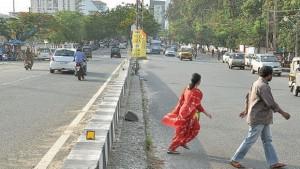 Pedestrians-crossing