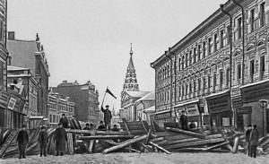 Barricade, 1905 revolution